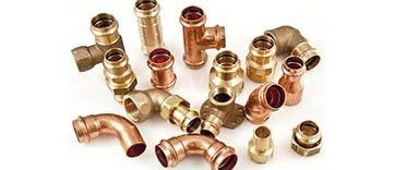 VIEGA Pressfittinge aus Kupfer und Rotguss für die Wasserversorgung