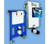Unterputz Montageelemente und Anschlußzubehör für Wand WC