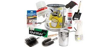 Reinigungsgeräte für Öfen und Herde