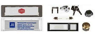 Ersatzteile für Briefkästen