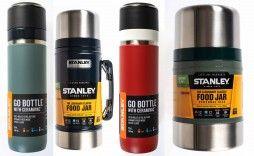 Stanley Isolierflaschen und Essenscontainer