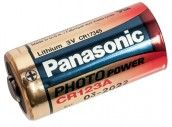 Panasonic 3 V Lithium Batterie CR123