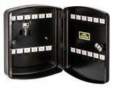 Burg Wächter Schlüsselschrank KB 24 schwarz mit 24 Haken