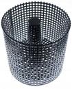 LIENBACHER Pelletkorb 21.02.455.2 schwarz, Höhe und Breite 175 mm,