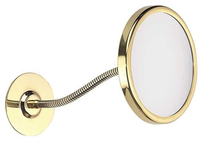FRAAS Wandspiegel, Messing, 5 x Vergr. 66060680, 14,5 cm Durchmesser, biegsam