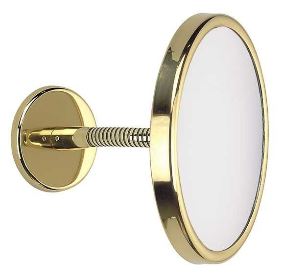 FRAAS Wandspiegel, Messing, 3 x Vergr. 66960870, 19 cm Durchmesser, biegsam