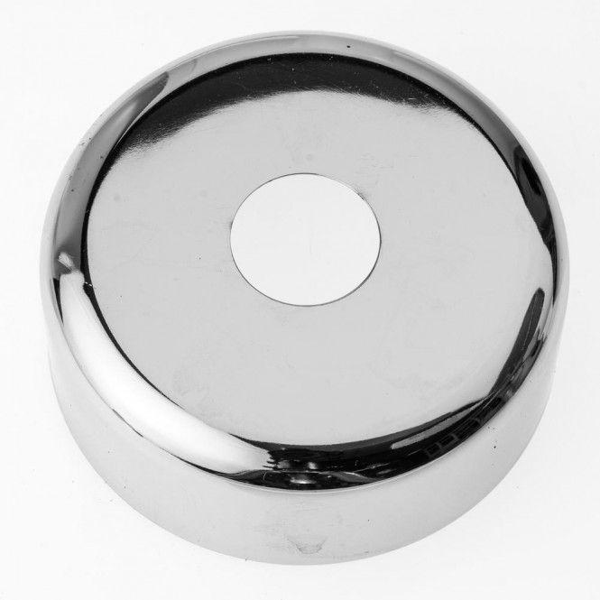 hahnrosette messing verchromt 101250 1 2 50 mm h he 61 mm durchmesser. Black Bedroom Furniture Sets. Home Design Ideas