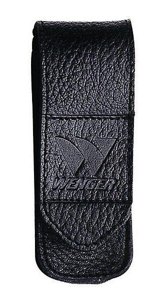 Messertasche für Schweizer Offiziermes- ser 8,5 cm Länge, 1 - 3 Federn