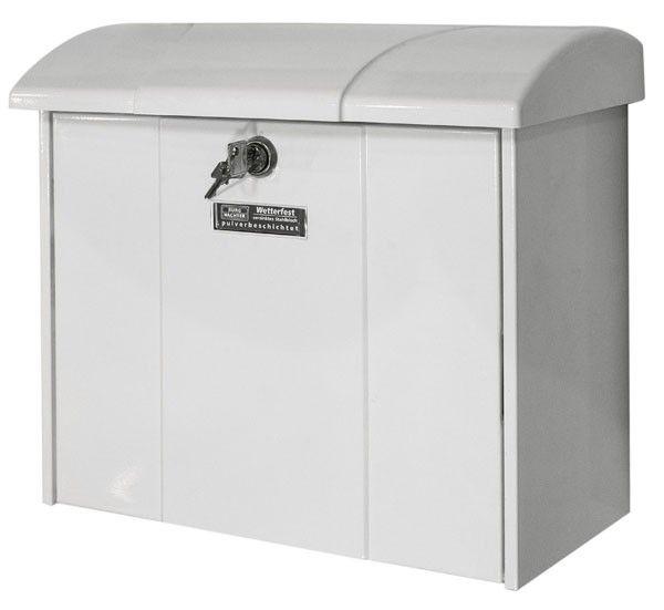 burg w chter briefkasten olymp 916 weiss. Black Bedroom Furniture Sets. Home Design Ideas