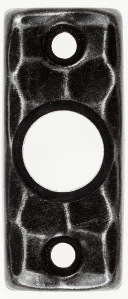 hansscheitter geschmiedete rosette 282 rechteckig f r t rdr cker. Black Bedroom Furniture Sets. Home Design Ideas