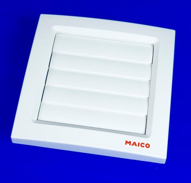 maico l ftungsklappe ap 100 aussenklappe kunstoff verkerhswei. Black Bedroom Furniture Sets. Home Design Ideas