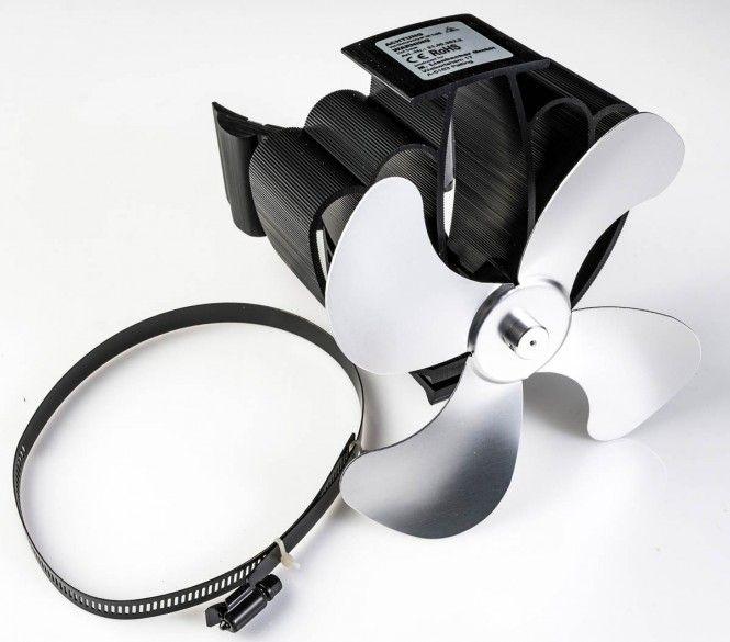 LIENBACHER Ofenventilator 21.00.382.2 wärmebetrieben, für Montage an Rauchrohr