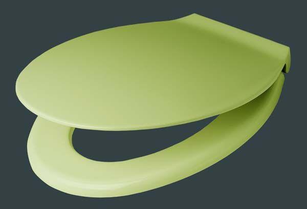 pagette exclusiv wc sitz moosgr n mit edelstahlbefestigung 790821607. Black Bedroom Furniture Sets. Home Design Ideas