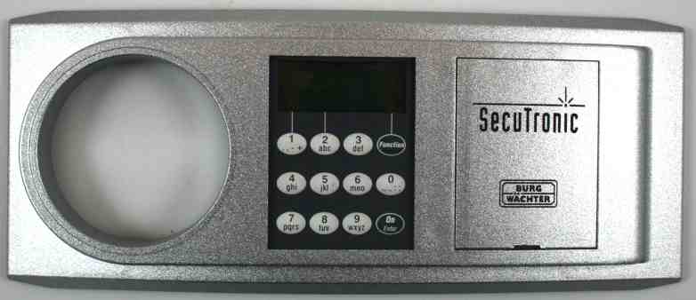 burg w chter tastatur trs e6 8 tas secutronic f r mt 24 und mt 26. Black Bedroom Furniture Sets. Home Design Ideas