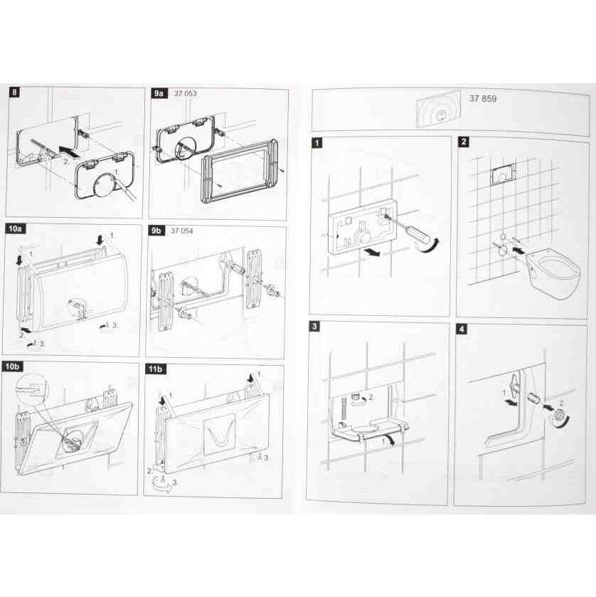 grohe abdeckplatte classic 330 330x190mm 37053sh0 f r sp lkasten 6 9l alpinwei. Black Bedroom Furniture Sets. Home Design Ideas
